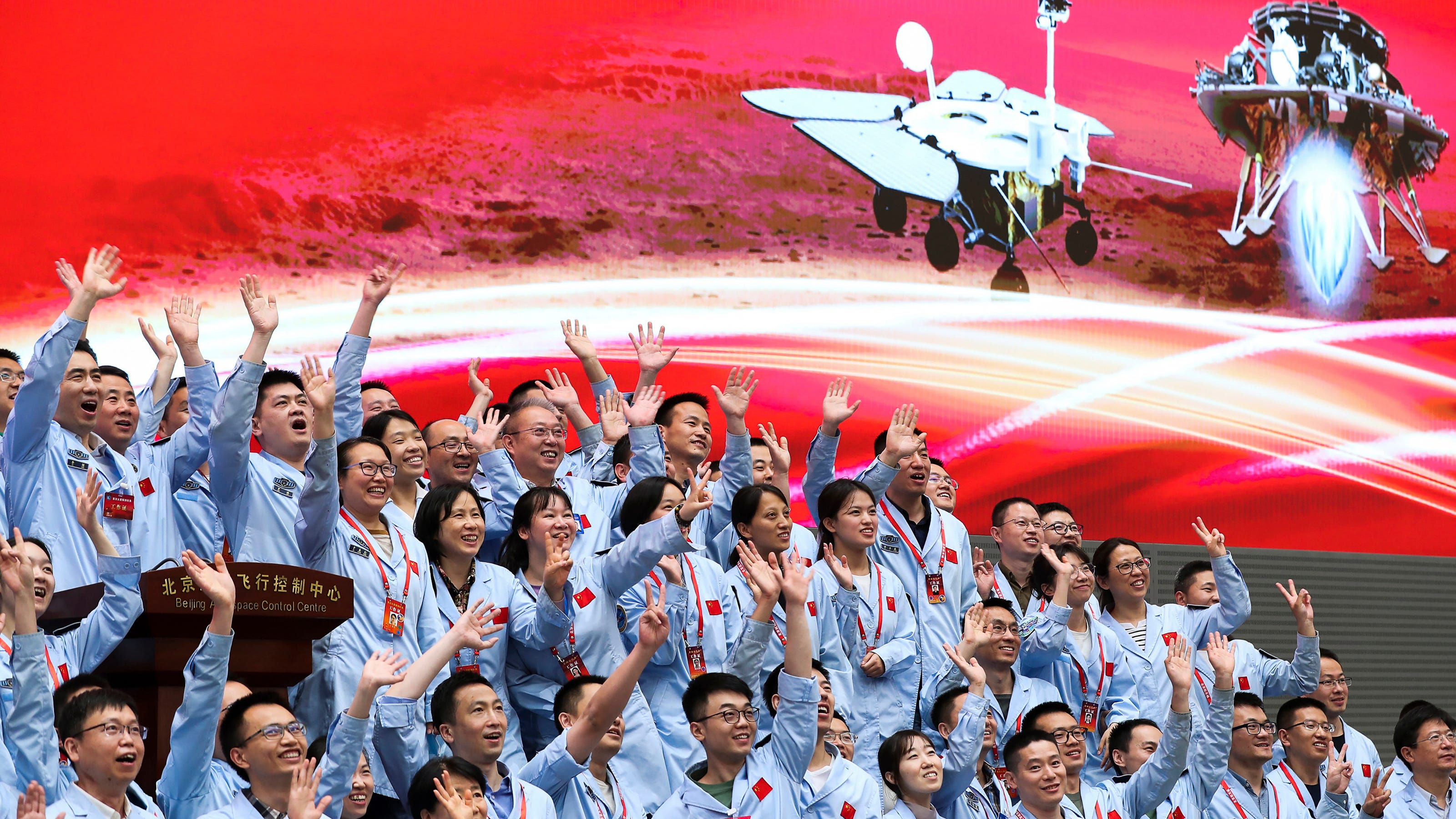 Zhurong rover lands on Mars; China joins US as only nations to successfully land on planet