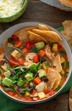 """This chicken tortilla soup from Leander resident Carolyn Gloria is featured in a new free e-cookbook called """"The Stories of Our Table."""""""