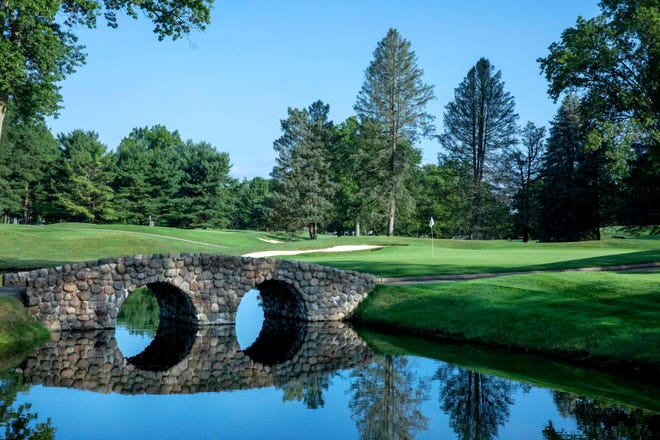 A view of the South Course at Firestone Country Club.