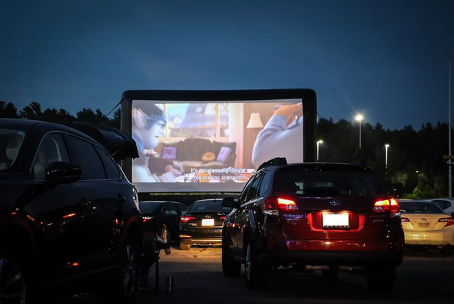 Catch a family flick at this pop-up drive-in.