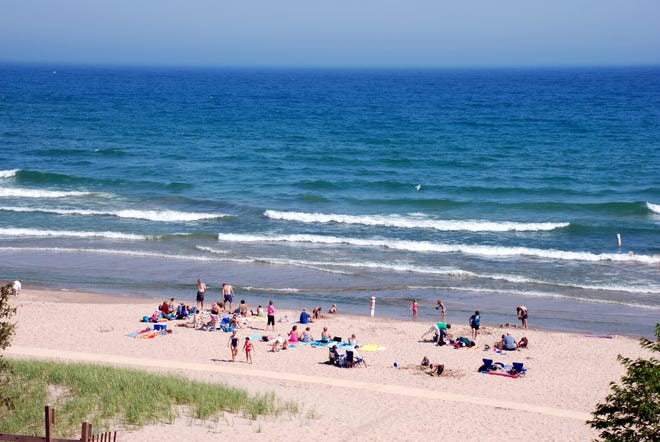 Whitefish Dunes State Park in Sturgeon Bay, Door County, Wisconsin sure looks a bit like Cape Cod!