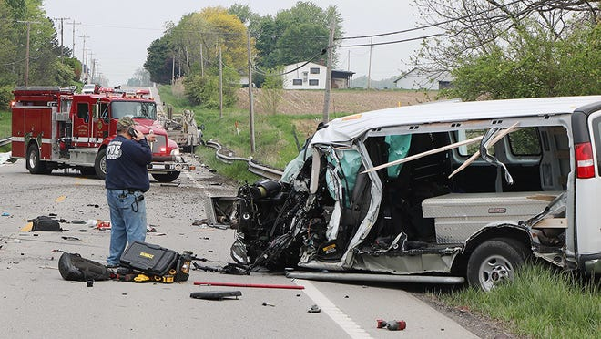 The New Pittsburg Fire Department, Ohio Highway Patrol from Wooster and Ashland, the Wayne County Sheriff, and the Jeromesville Fire Department all responded to a two-vehicle crash on U.S. Route 250 that resulted in one man's death and serious injuries to another.