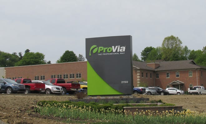 The production facility at Pro Via in Walnut Creek Township on state Route 39 is projected to expand 123,000 feet.