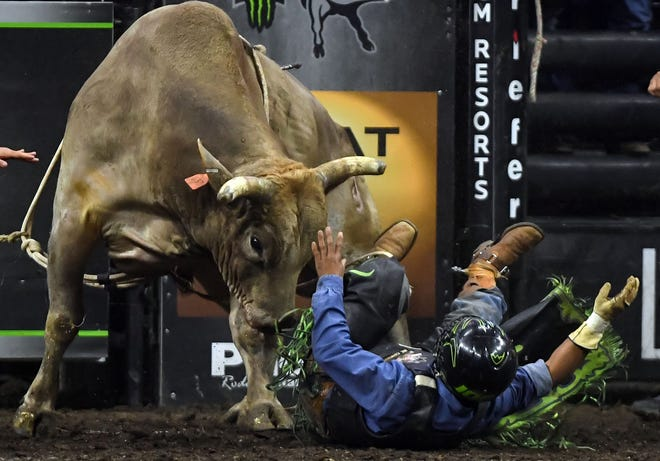 The Professional Bull Riders Unleash the Beast event is at VyStar Veterans Memorial Arena Saturday and Sunday.