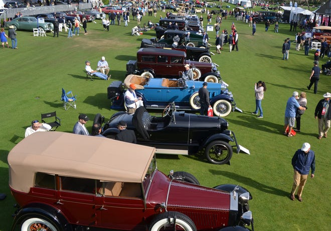 American classics from the 1920s and 1930s formed a long line at the 2018 Amelia Island Concours.
