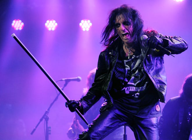 Alice Cooper is coming to Topeka in October, and he's bringing Kiss guitarist Ace Frehley along.