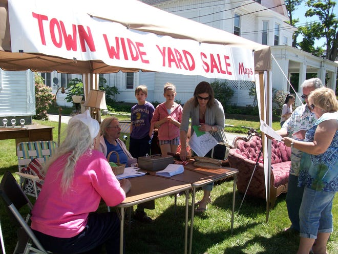 Westminster prepares for its annual town-wide yard sale on Saturday, June 19.