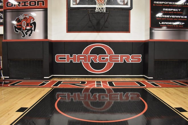 Orion Gym west  wall stock