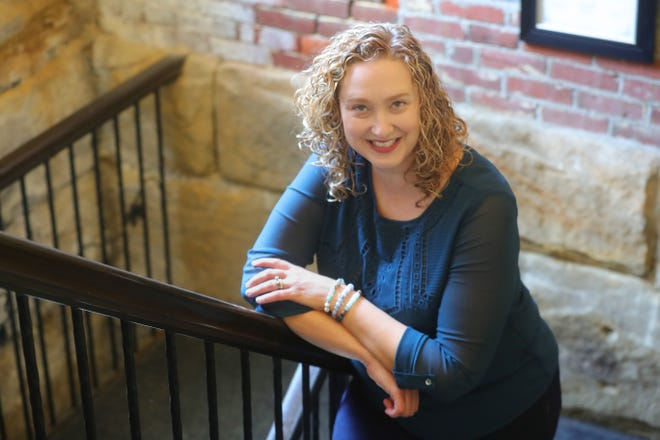 Connie Thackaberry is a mentor with College Now Greater Cleveland, which helps students get into and stay in college.