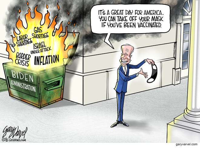 Today's editorial cartoon (May 18, 2021)