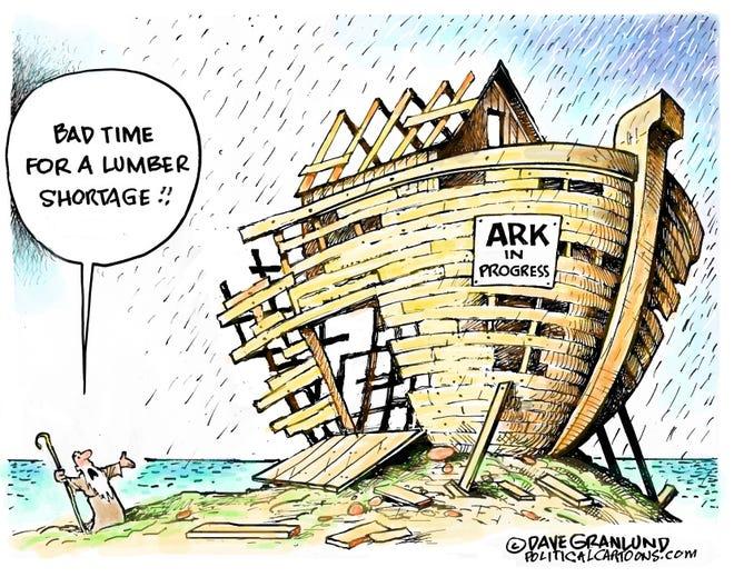 Today's editorial cartoon (May 20, 2021)