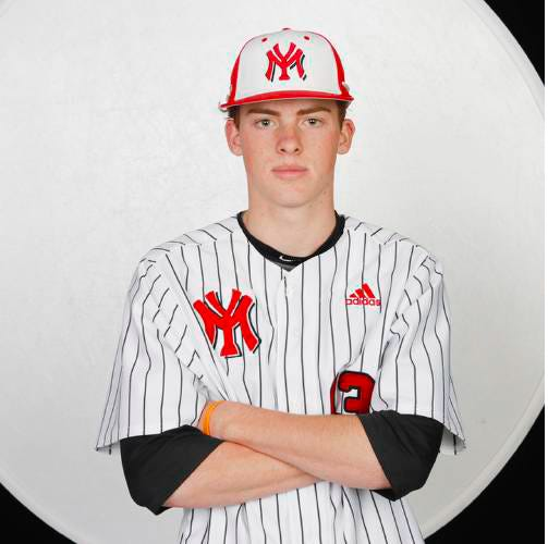 The Oklahoma City Area Baseball Coaches Association selected Yukon's Carson Benge asthe North player of the year.