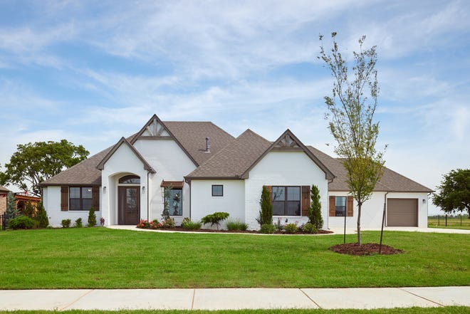 Landmark Fine Homes has 4225 SW 127 entered in the upcoming Festival of Homes organized by the Builders Association of South Central Oklahoma.