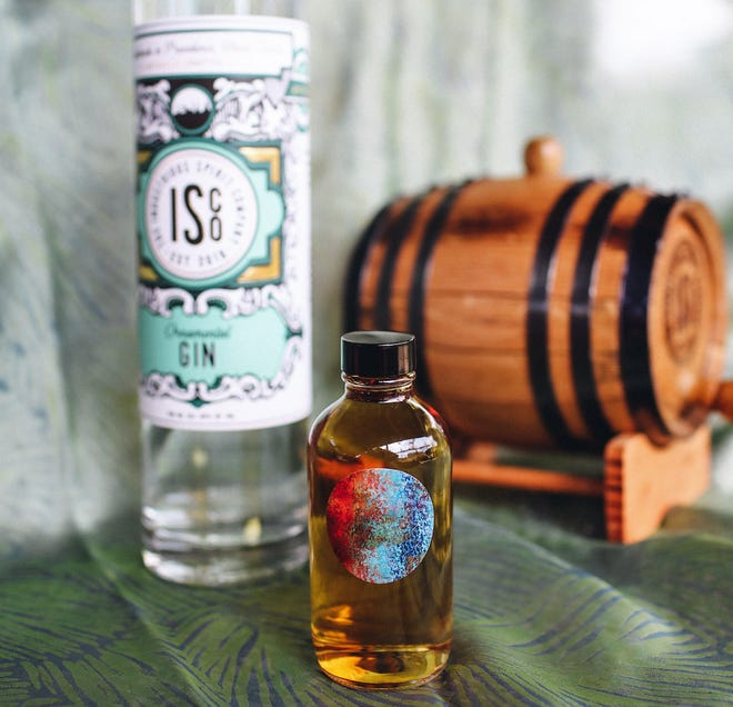 A new barrel aged gin is on the menu at ISCO, the Industrial Sprits Company in Providence.