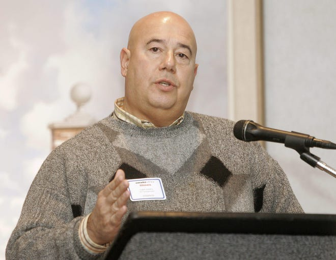 In this file photo, Joseph Castrogiovanni is seen speaking at a forum in December 2007.