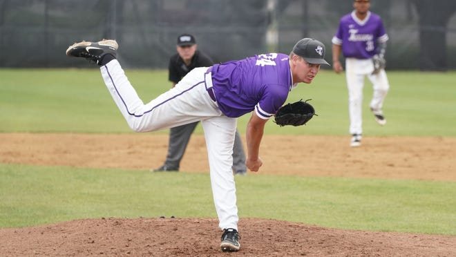 Tarleton senior right-hander Ty Jones got his first start of the season for the Texans and threw a season-best four innings on the mound, allowing five hits, five runs and struck out two in Sunday's season finale.