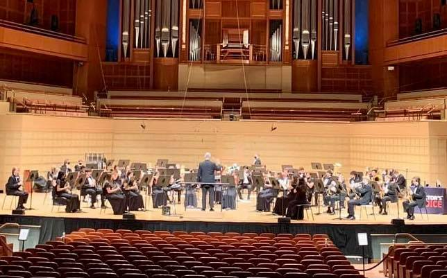 The Stephenville High School Yellow Jacket Band's recent wind ensemble performance earned the group best in class and outstanding high school band honors at the Invitational Wind Band Festival held at the Morton H. Meyerson Symphony Center in Dallas.