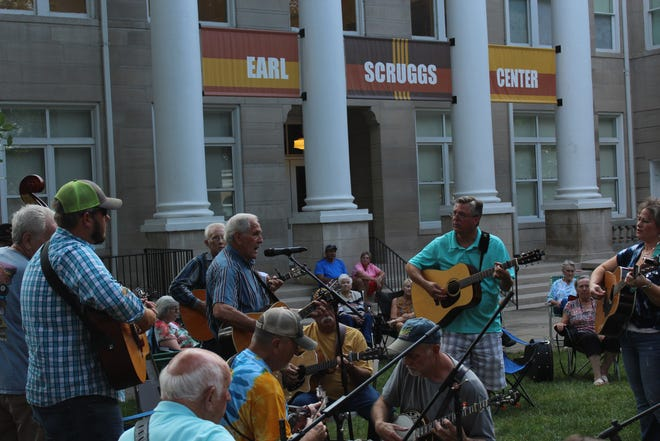 Pickin' on the Square will return to Shelby this summer.