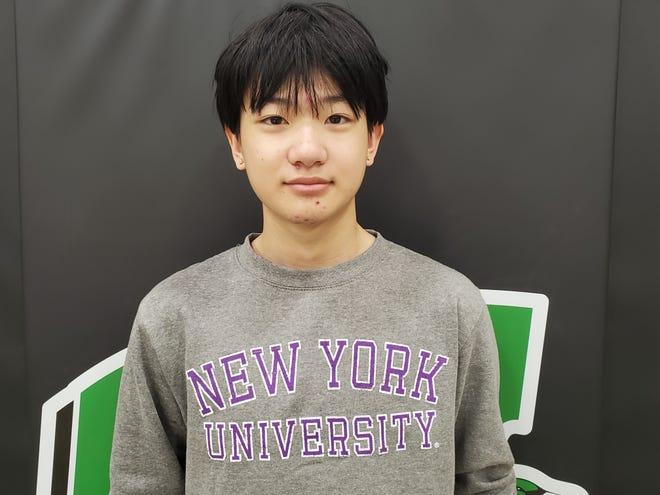 Wethersfield High School salutatorian is Jason Li.