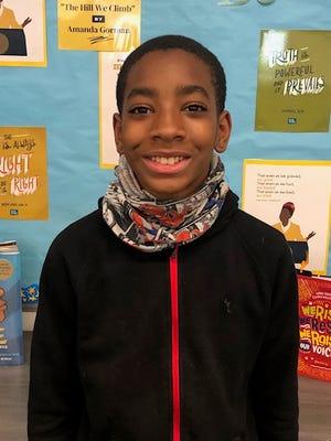 Adonis Jones of Trask Middle School is New Hanover County Schools' Student of the Week.