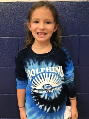 Carah Inman of Union Elementary is Brunswick County Schools' Student of the Week.