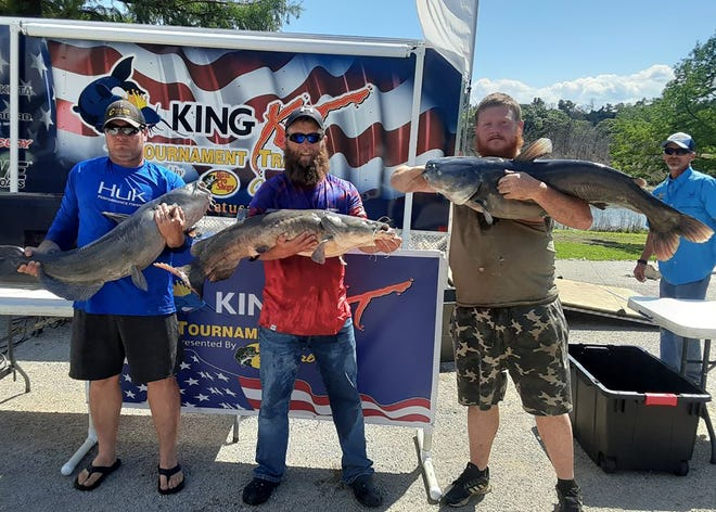 Perry's Tyson Burnett and Council Grove's Craig Norris took first place May 15 during the Cabela's King Kat Tournament Series event on Milford Reservoir.