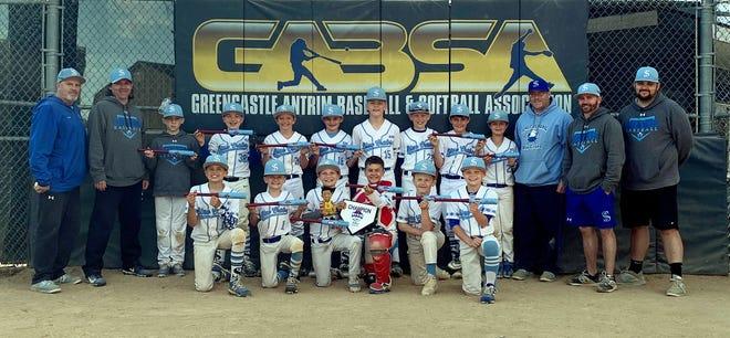 Smithsburg Blue Crabs 10U baseball team