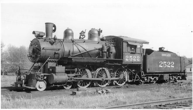 While coal mining was still a major industry in Paris, the train hauled coal across the area.