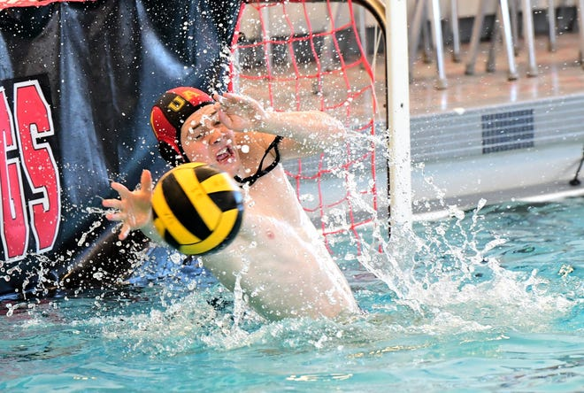 Jackson Gooding made 13 saves to help Upper Arlington defeat visiting St. Charles 16-12 on May 16 in the North Region final. Both the Golden Bears and Cardinals qualified for the state tournament May 22 at Cincinnati Princeton.