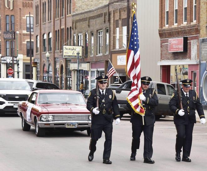 parade runs through main
