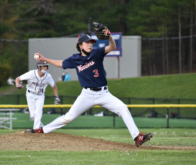 Senior Chris Parinella closes out Concord-Carlisle with 3 shutout innings