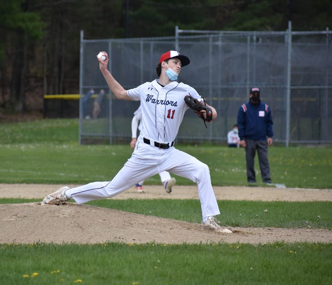 Senior Robbie O'Connor pitched a no-hitter last Friday against Newton South. He struck out 13 batters and walked just one.