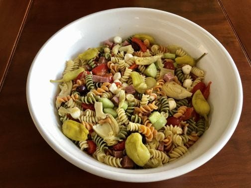An Antipasto Pasta Salad bursts with the flavors of Italy.