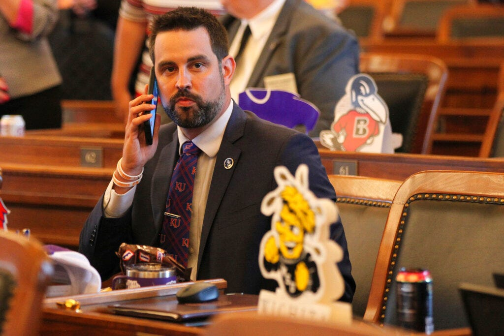 Kansas lawmaker faces 3 battery charges over school incident 2