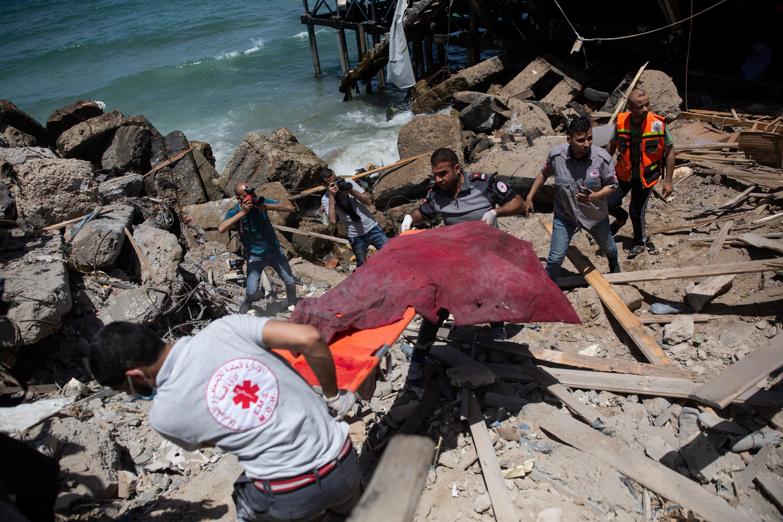 Israeli strikes hit Gaza tunnels as diplomats work for truce 2