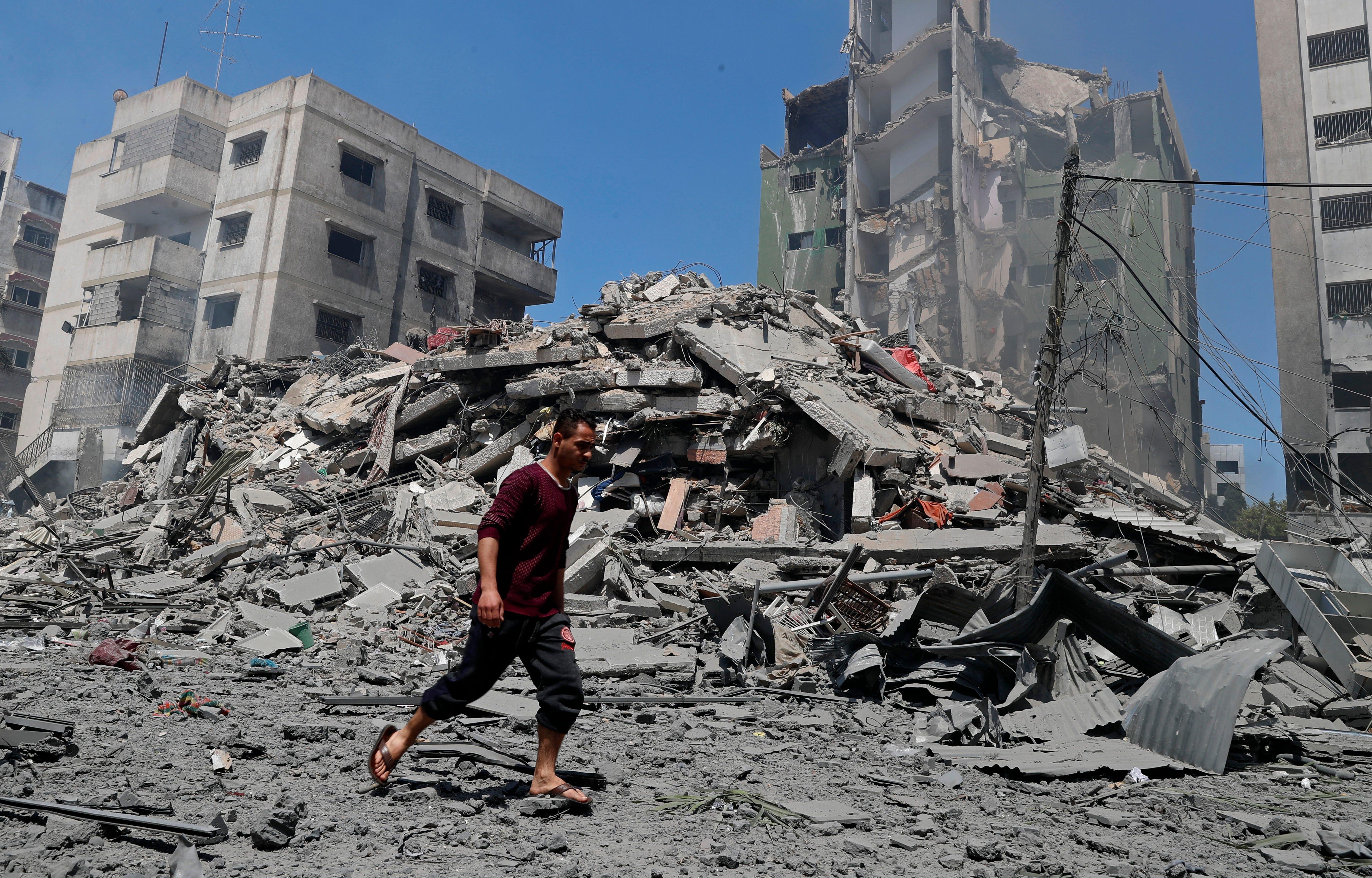 Blinken hasn't seen any evidence on AP Gaza building strike 2