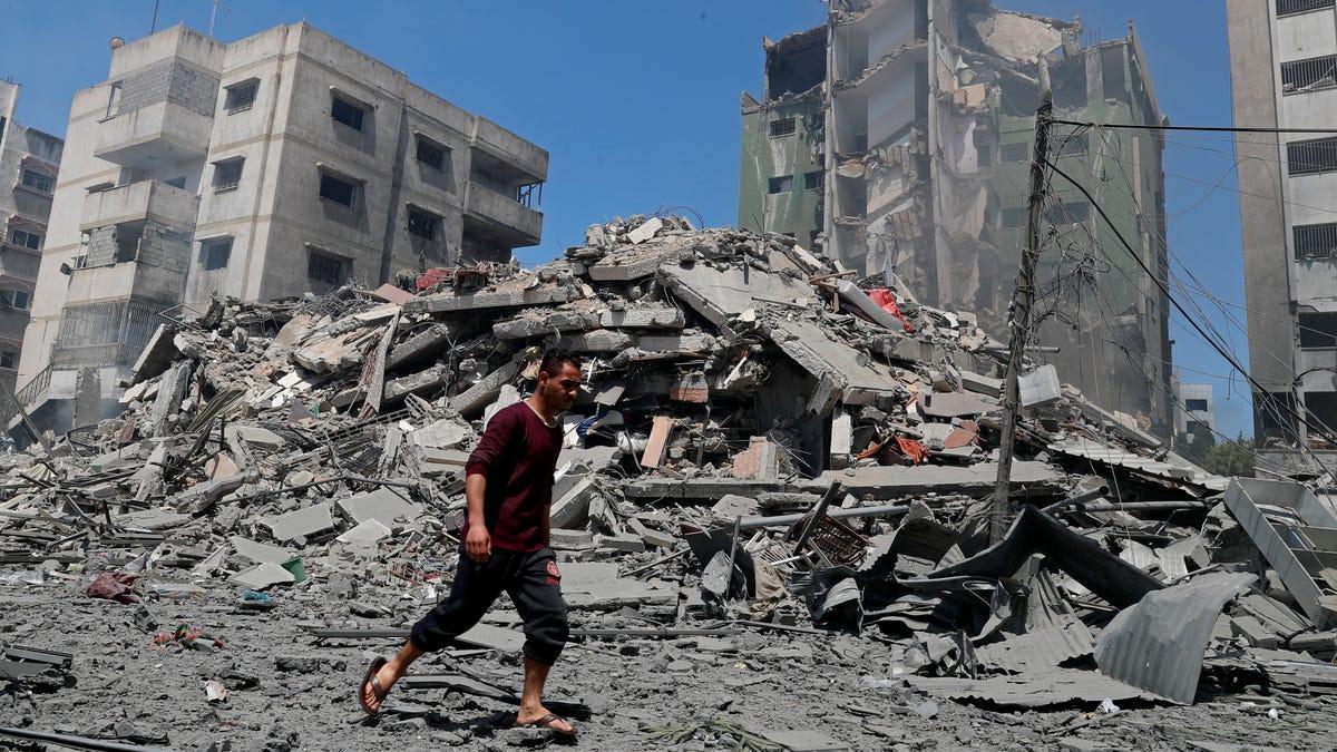 Blinken hasn't seen any evidence on AP Gaza building strike 3