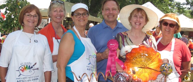 Arts in the Park returns to Port Clinton again this summer on Aug. 7 and Aug. 8.