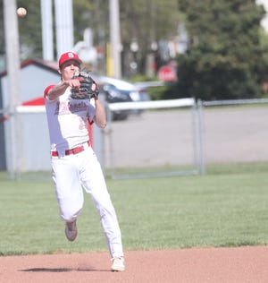 Shelby's Marshall Shepherd was named the Mid-Ohio Athletic Conference Baseball Player of the Year in 2021.