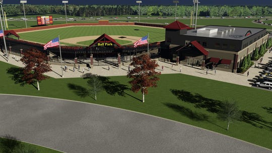 Lake Country Live, a ballpark and training facility, is scheduled for completion in 2022.