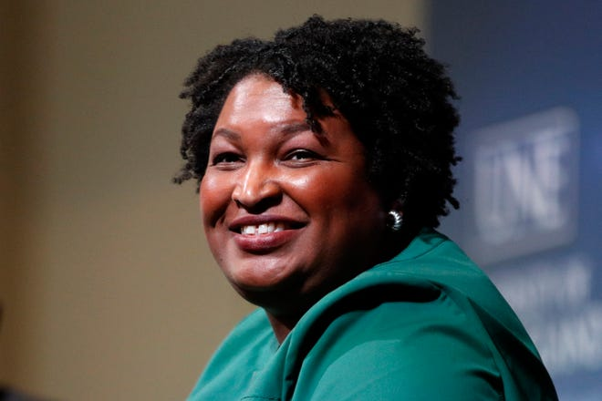 """Georgia Democrat Stacey Abrams will appear in """"a conversation"""" at the Riverside Theater in Milwaukee, Sept. 22."""