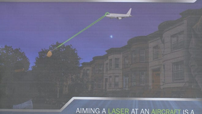 Mt. Juliet and Nashville police have made recent arrests accusing suspects of shining high-powered lasers at aircraft.