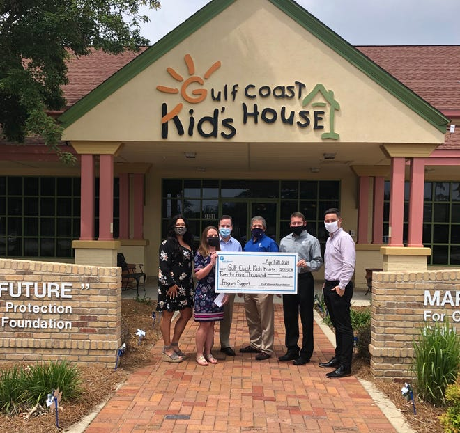 Gulf Power Foundation contributes $100,000 to support local child abuse victims.