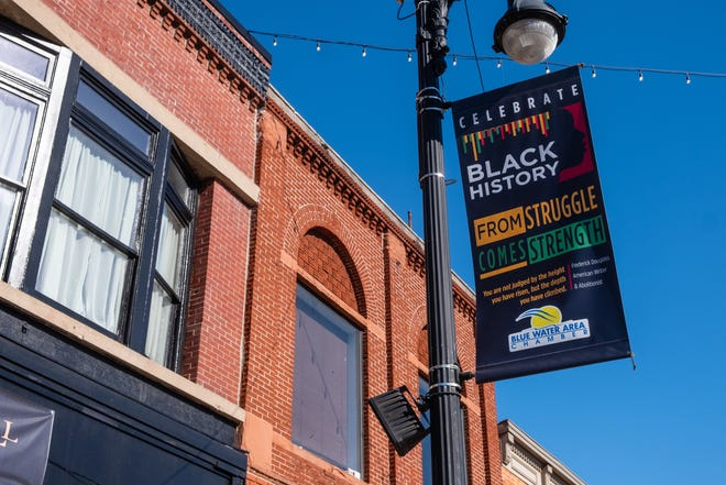 The Black History Month banners in downtown Port Huron are being removed. The organizers of the project hope to be able to hang them again next year.