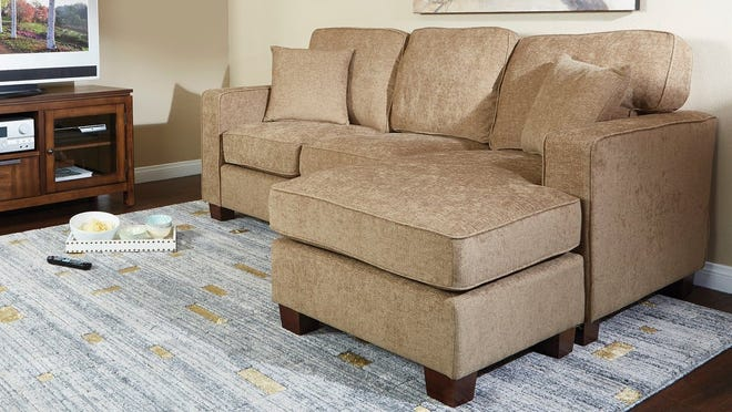 Copper Grove's sectional sofa earned high-praise from customers with small living rooms.
