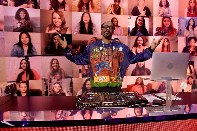 DJ Snoopadelic aka Snoop Dogg performs onstage during the 2021 MTV Movie & TV Awards.
