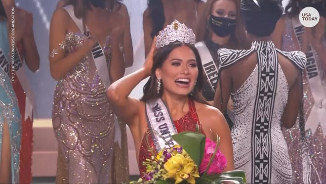 Software engineer Miss Mexico Andrea Meza beat out 73 other contestants to be crowned Miss Universe.