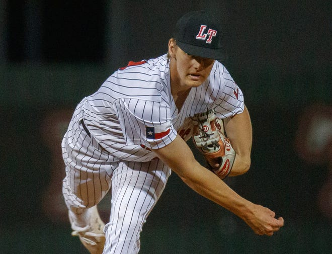 Pitcher Ethan Roark and the Lake Travis baseball team will face Round Rock in a high-powered Class 6A regional quarterfinal series this week at Concordia University.