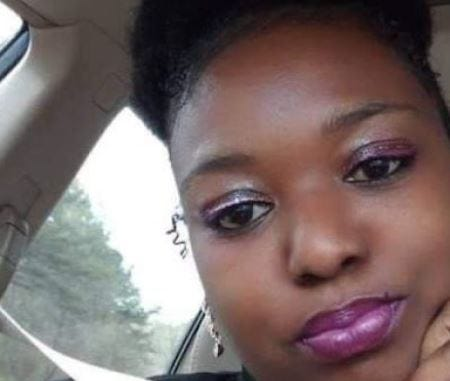 Angelica Johnson died after she was hit by a pickup earlier this month on the Athens Perimeter.