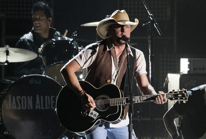 Jason Aldean is scheduled to perform at Blossom Music Center on Oct. 15.